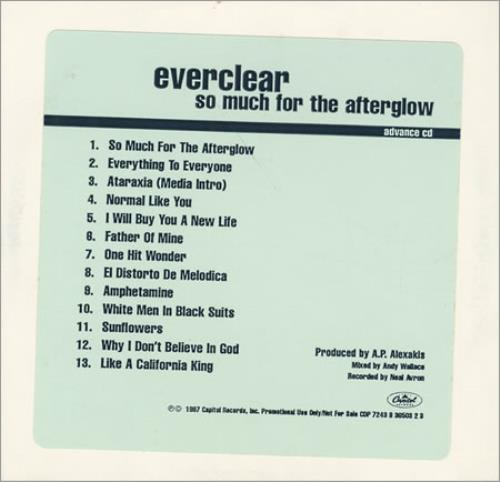everclear so much for the afterglow