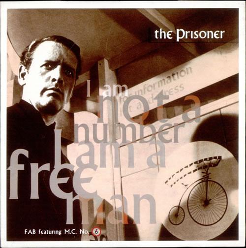 F.A.B. - The Prisoner (Free Man Mix) - 7inch x 1
