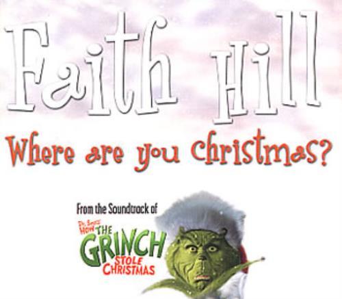 price info - Faith Hill Where Are You Christmas