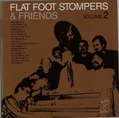 FLAT FOOT STOMPERS - Flat Foot Stompers & Friends Volume 2 - 12 inch 33 rpm