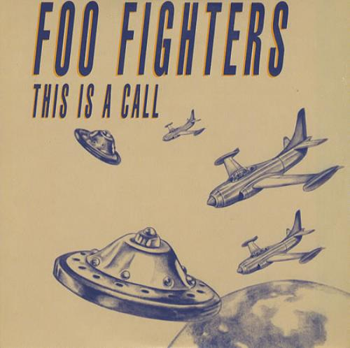 Foo Fighters This Is A Call French 5 Quot Cd Single 8824452