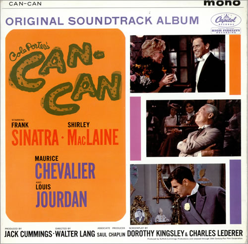 SINATRA, FRANK - Can-Can Soundtrack - 12 inch 33 rpm
