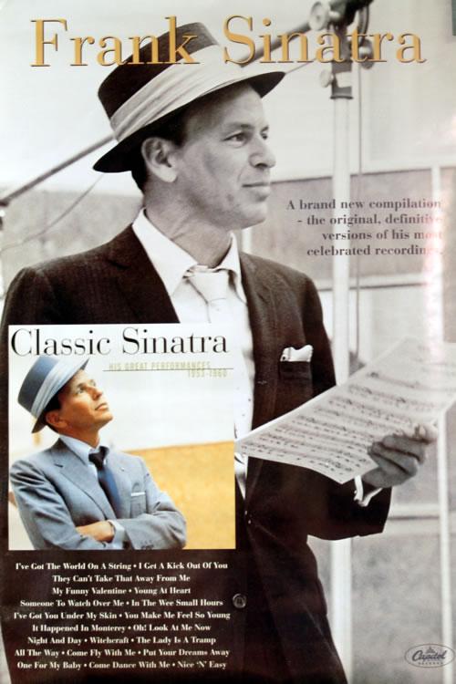 SINATRA, FRANK - Classic Sinatra - Poster / Affiche