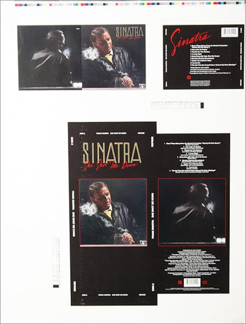 SINATRA, FRANK - She Shot Me Down - Poster / Affiche