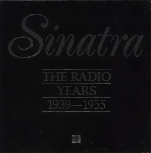 SINATRA, FRANK - Sinatra The Radio Years 1939-1955 - LP