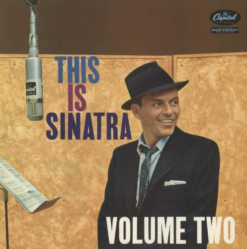 SINATRA, FRANK - This Is Sinatra Volume Two - 12 inch 33 rpm