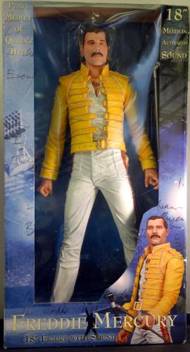 Freddie Mercury Action Figure Uk Toy 634482420652 Action