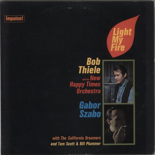 SZABO, GABOR - Light My Fire - 12 inch 33 rpm