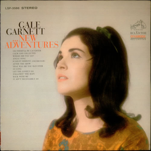 Gale Garnett New Adventures Usa Vinyl Lp Record Lsp 3586