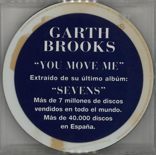 BROOKS, GARTH - You Move Me - CD