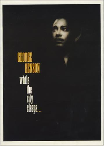 BENSON, GEORGE - While The City Sleeps... + ticket stubs - Autres