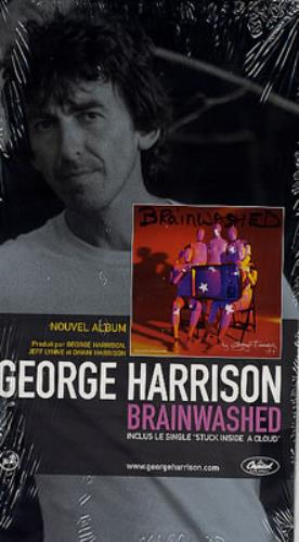 George Harrison Brainwashed French Promo handbill (241333)