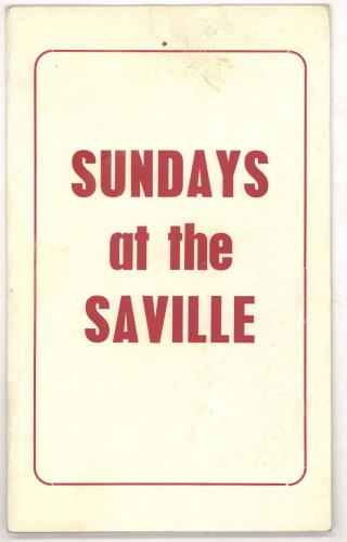 GEORGIE FAME - Sunday At The Saville - Autres