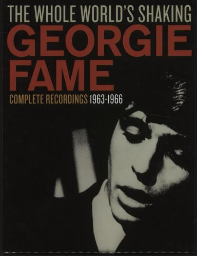 GEORGIE FAME - The Whole World's Shaking (Complete Recordings 1963-1966) - Others