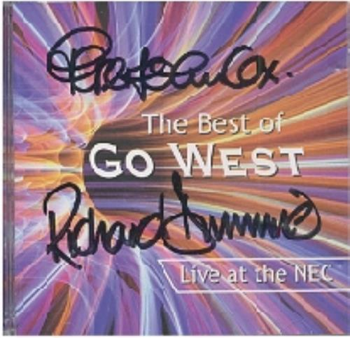 Go west the best of uk cd album blueprint2 the best of go west price info malvernweather Images