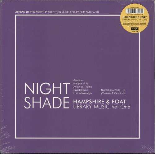 FOAT, GREG - Nightshade - Sealed - Maxi 33T
