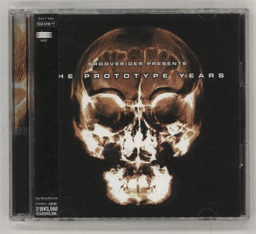 GROOVERIDER - The Prototype Years - CD