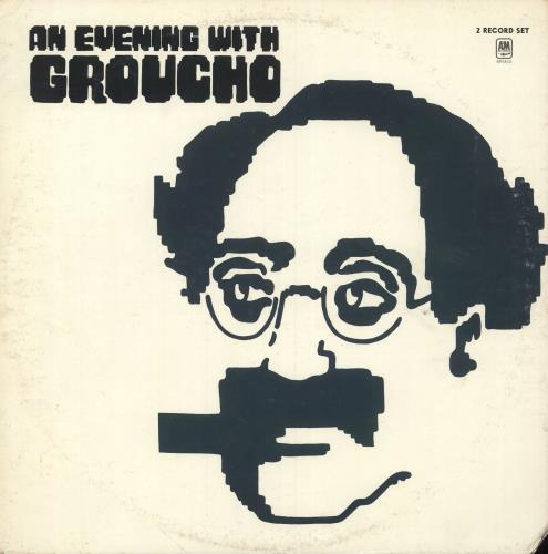 MARX, GROUCHO - An Evening With Groucho - Maxi 33T
