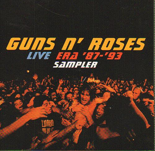 guns n roses live era 8793 usa promo cd album int5p