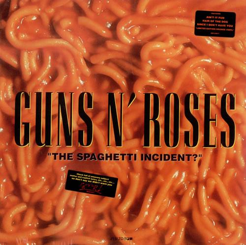 Guns N Roses The Spaghetti Incident Orange Vinyl
