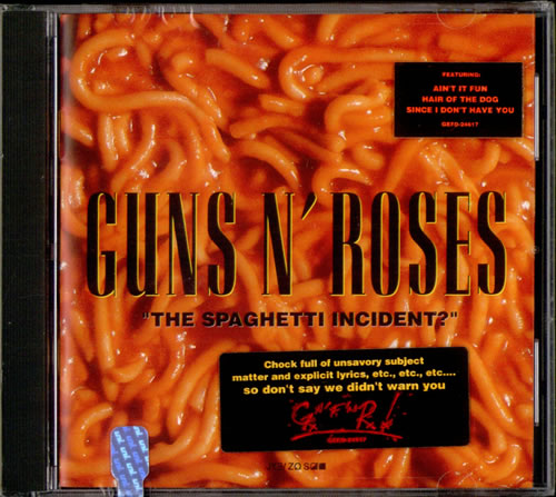 guns n roses the spaghetti incident sealed usa cd album