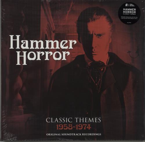 HAMMER HORROR - Hammer Horror - Classic Themes 1958-1974 - Green Vinyl - Maxi 33T