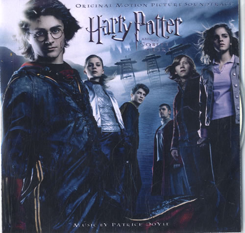 HARRY POTTER - Harry Potter And The Goblet Of Fire - CD