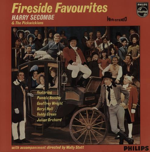 HARRY SECOMBE - Fireside Favourites - 12 inch 33 rpm
