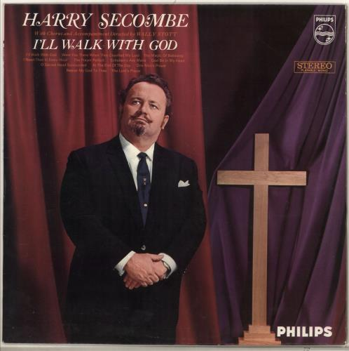 HARRY SECOMBE - I'll Walk With God - 12 inch 33 rpm
