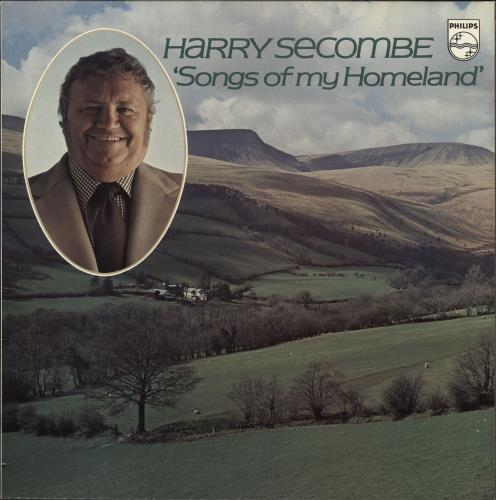 HARRY SECOMBE - Songs Of My Homeland - Maxi 33T