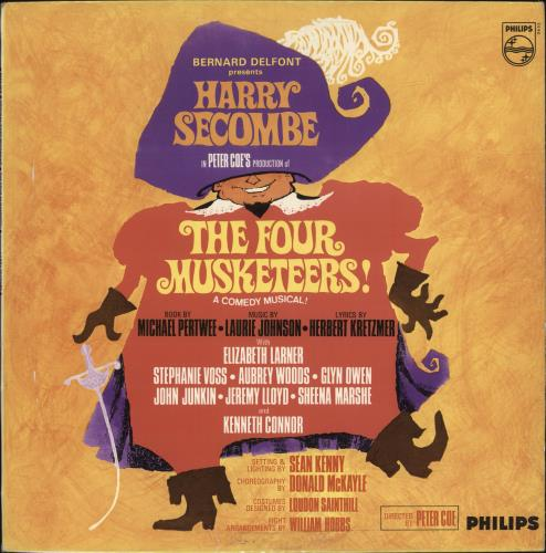 HARRY SECOMBE - The Four Musketeers - Maxi 33T