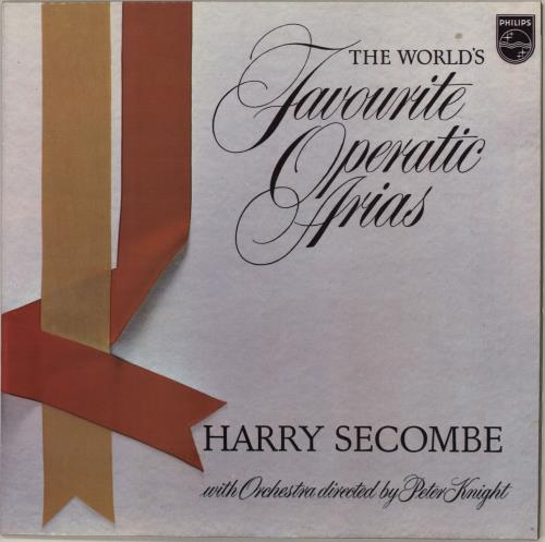 HARRY SECOMBE - The World's Favourite Operatic Arias - 12 inch 33 rpm