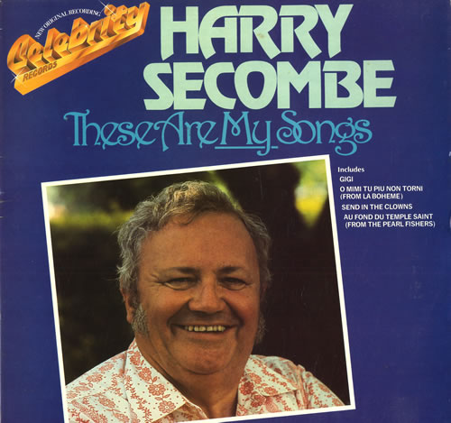 HARRY SECOMBE - These Are My Songs - Maxi 33T