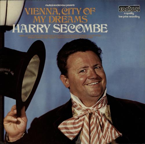 HARRY SECOMBE - Vienna, City Of My Dreams - 12 inch 33 rpm