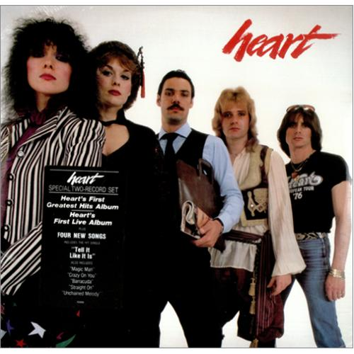 Heart Greatest Hits Live Sealed Usa Double Vinyl Lp Ke2