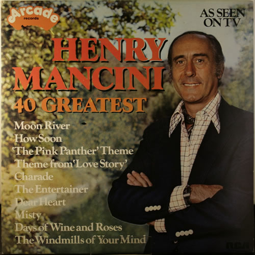 MANCINI, HENRY - 40 Greatest - 12 inch 33 rpm