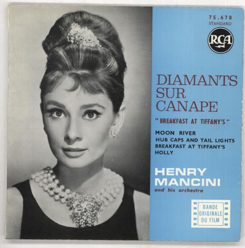 mancini, henry diamants sur canape ''breakfast at tiffany's''