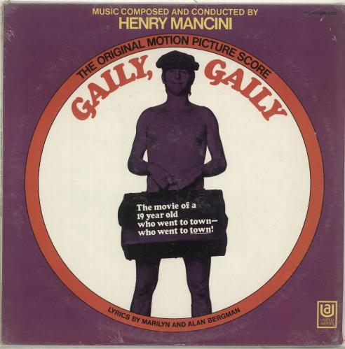 MANCINI, HENRY - Gaily, Gaily - Maxi 33T