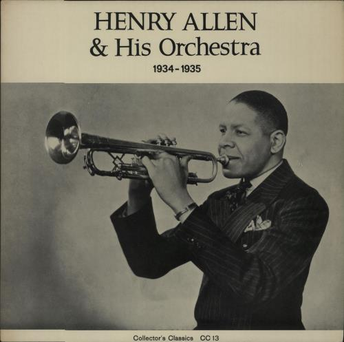 ALLEN, HENRY 'RED' - Henry Allen & His Orchestra 1934-1935 - Maxi 33T