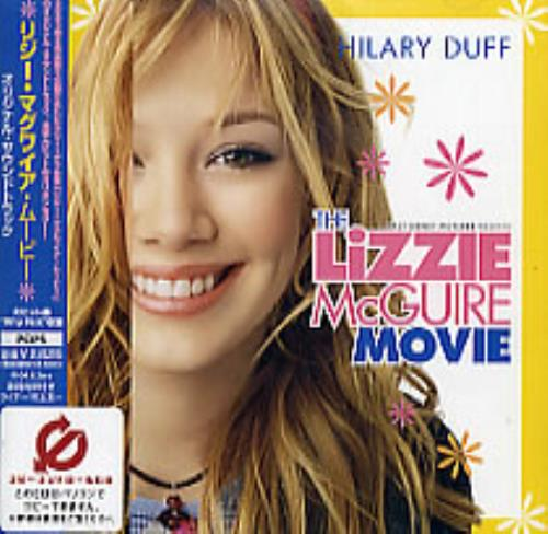 hilary duff the lizzie mcguire movie japan promo cd album