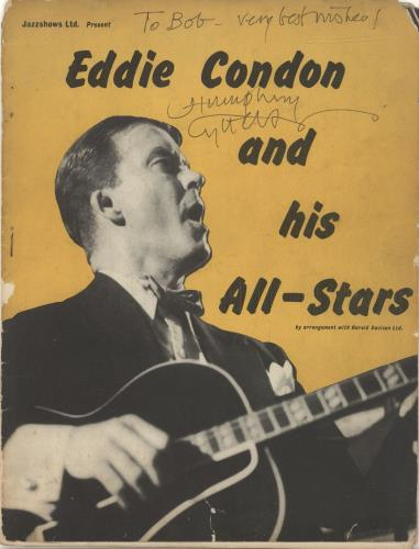 LYTTELTON, HUMPHREY - Eddie Condon And His All-Stars - Autographed - Others