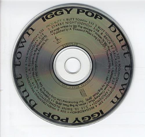 Butt Town Iggy Pop 90