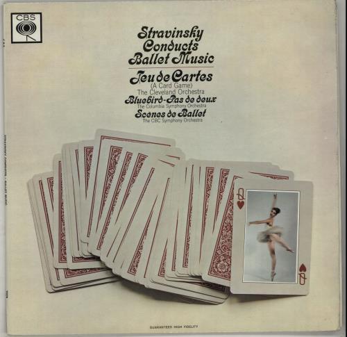 Stravinsky, Igor Ballet Music