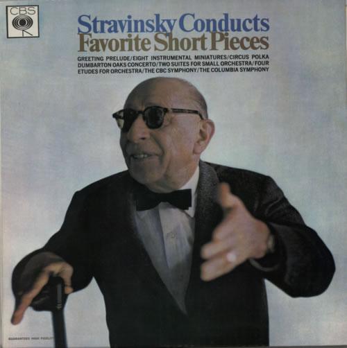 Stravinsky, Igor Favorite Short Pieces