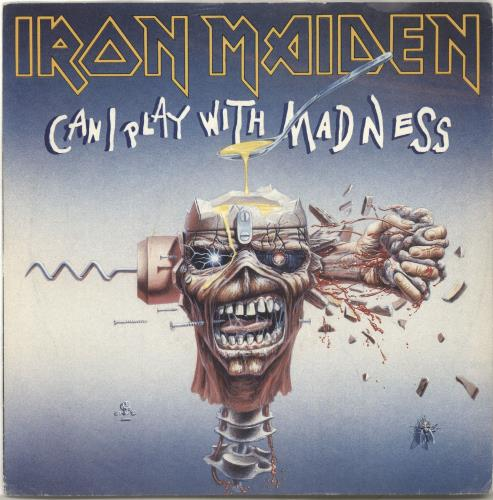 iron maiden can i play with madness - inj + p/s