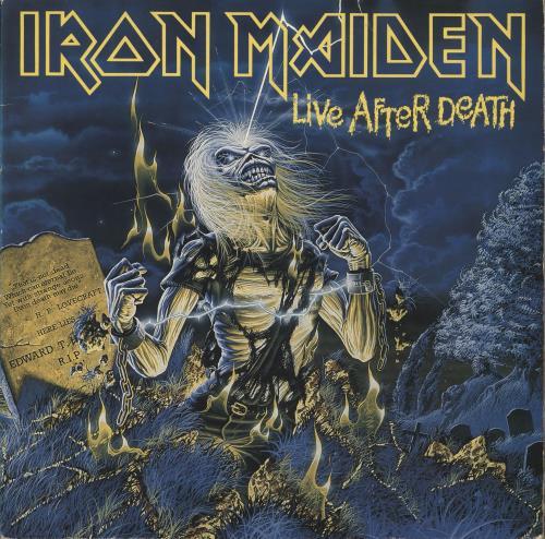 Iron Maiden Live After Death - EX
