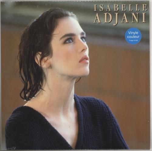 ADJANI, ISABELLE - Isabelle Adjani - Blue Vinyl + Sealed - 12 inch 33 rpm