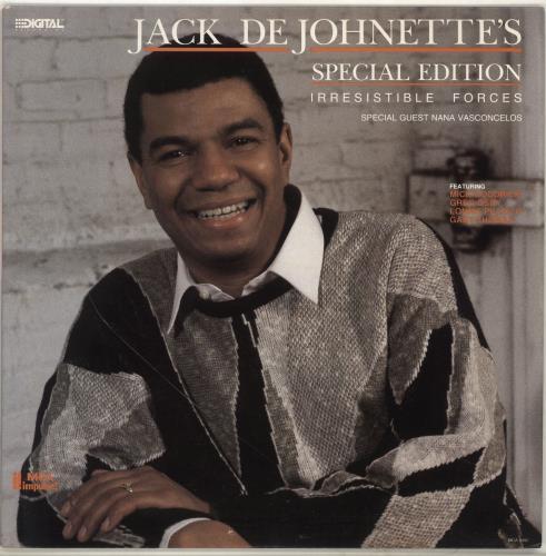 DEJOHNETTE, JACK - Irresistible Forces - Maxi 33T