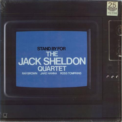SHELDON, JACK - Stand By For - 12 inch 33 rpm
