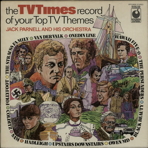 PARNELL, JACK - The TV Times Record Of Your Top TV Themes - Maxi 33T